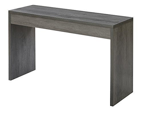 Convenience Concepts 111091WGY Northfield Hall Console Table, Weathered Gray (Gray Hall)