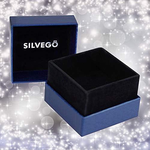 Bague de Fian/çailles Argent SKYE Swarovski/® Zircon Argent Sterling 925