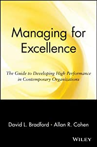 Managing for Excellence: The Guide to Developing High Performance in Contemporary Organizations (Wiley Management Series on Problem Solving, Decision Making and Strategic Thinking)