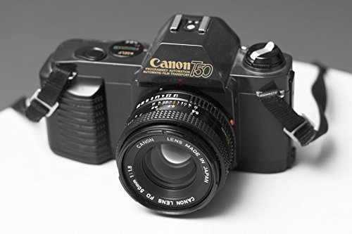 Canon T50 SLR Camera 35mm Kit with Canon FD 50MM 1:1.8 lens