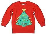Mädchen Weihnachts Pullover