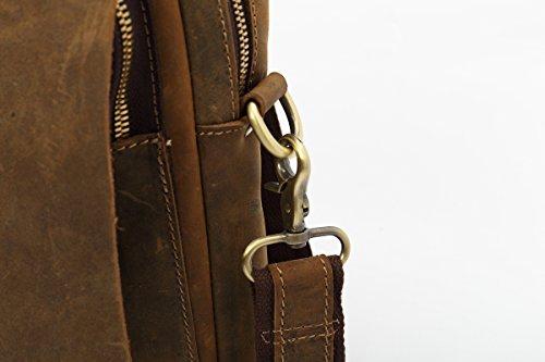 sulandy - Bolso bandolera unisex - adultos marrón