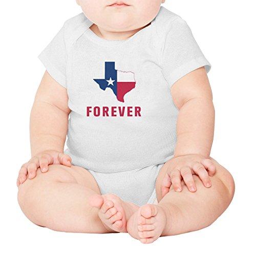 (Artisfive I Love Texas Forever Unisex Baby Onesies Infant)