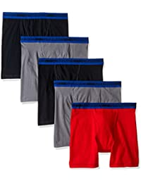 Big Boys' 5 Pack Sport Boxer Brief