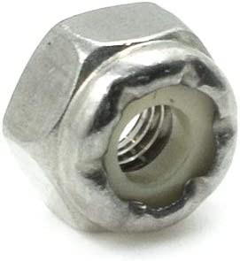 METRIC NYLON INSERT LOCK NUT SET A4  STAINLESS   M5 M12  45 pcs
