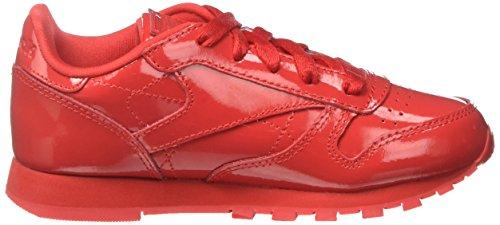 Reebok Classic Patent, Zapatillas de Running para Niñas Rojo (Red 000)