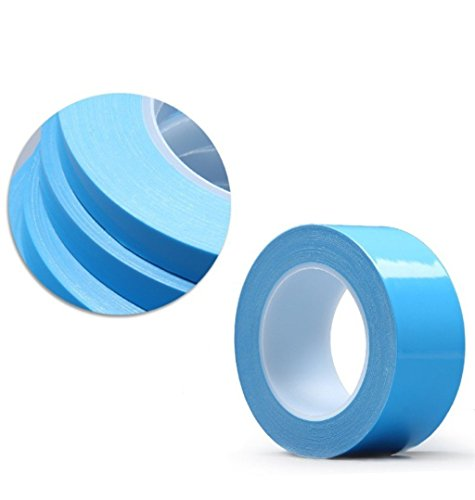 AIYUNNI 20mm x 25M x 0.25mm Thermal Adhesive Tape High performance Thermal Double Side Tapes Cooling Pad Apply to Heatsink LED IGBT IC Chip Computer CPU GPU Modules MOS tube SSD Drives by AIYUNNI (Image #4)