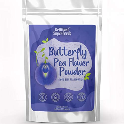 Blue Butterfly Pea Flower Powder Concentrate - Large 4.02 oz - 100% Natural  Blue Food Coloring for Fun Food Recipes - Add Beautiful Lavender Blue ...