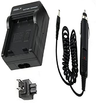 GZ-HD40US Camcorder LCD Dual Quick Battery Charger for JVC Everio GZ-HD40 GZ-HD40U