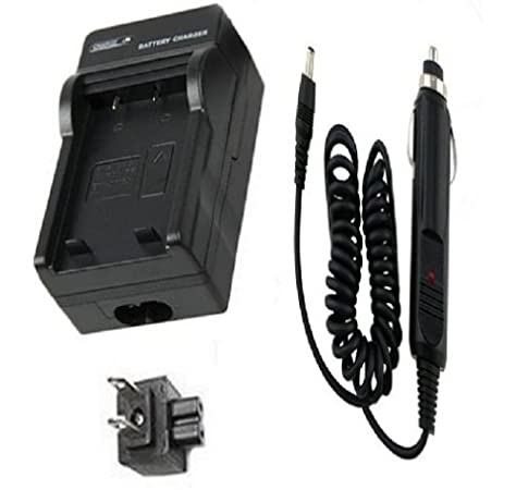 GZ-HD7U LCD Quick Battery Charger for JVC Everio GZ-HD7 GZ-HD7US Camcorder