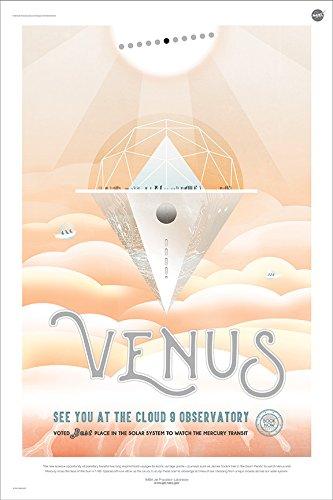 venus poster nasa