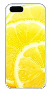 iPhone 5 5S Case Delicious Oranges PC Custom iPhone 5 5S Case Cover White