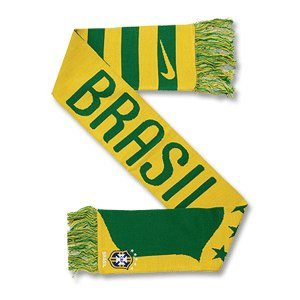 Brasilien Schal 2010