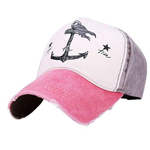 de libre Rojo al Hombres Gorra beisbol Deportes casuales aire Sandía Sombreros Mujer Goodsatar Snapback Marrón tB8qTw