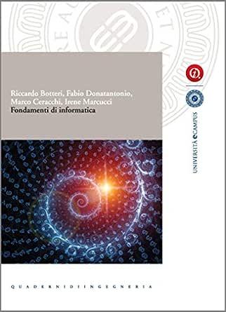 Fondamenti di Informatica (Collana eCampus) (Italian Edition ...