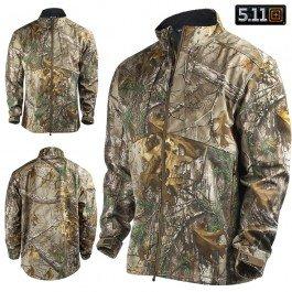 5.11 Men's Realtree Sierra Soft-Shell Jacket, Realtree Xtra, X-Large