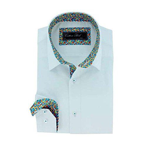 Cotton Park -  Camicia classiche  - Maniche lunghe  - Uomo