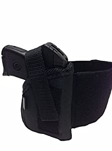 Pro-Tech Outdoors Ankle Concealed Holster Fits The S&W Bodyguard 380 with Laser