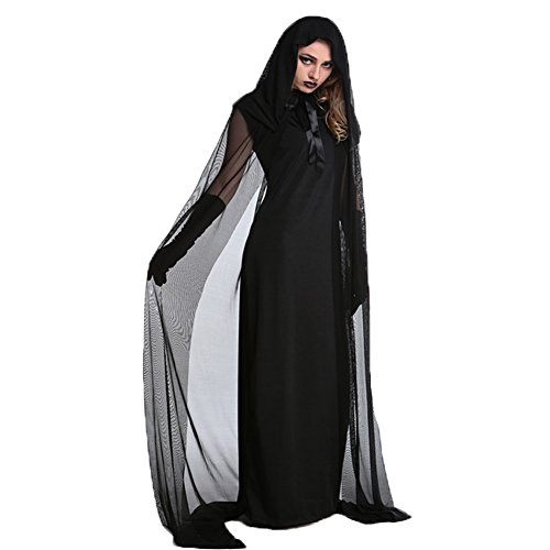 Halloween Dark Angel (Hallowmax's Halloween Ladies Fallen Angel Witch Dark Saints Cosplay)