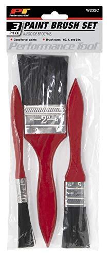 Price comparison product image Performance Tool W232C 3-Piece Paint Brush Set