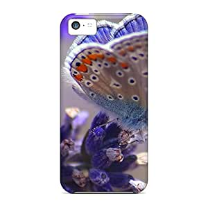 High Quality Phone Case For Iphone 5c With Allow Personal Design Trendy Butterfly Pictures KellyLast
