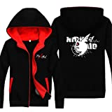 Vicwin-One Akame Ga Kill Logo Thick Hoodie Pullover Cosplay (Size XXL)