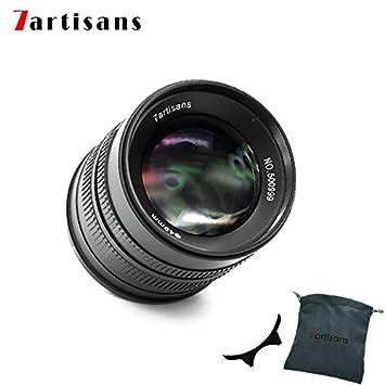 7artisans 55mm F1 4 APS-C Manual Fixed Lens für Fuji X Mount Cameras Like  X-A1 X-A10 X-A2 X-A3 X-at X-M1 XM2 X-T1 X-T10 X-T2 X-T20 X-Pro1 X-Pro2 X-E1