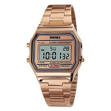 Relojes Hermosos, Skmei® moda clásica plaza de deportes de acero digitales cronógrafo reloj /