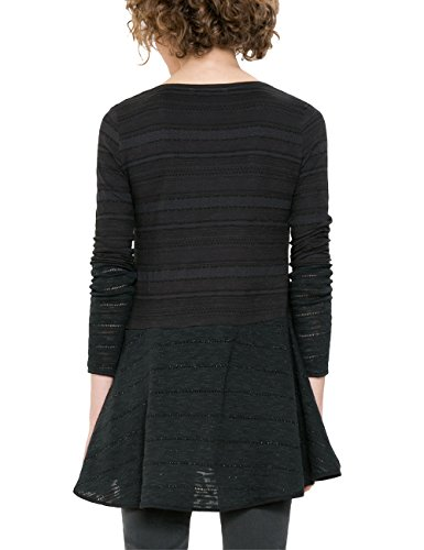 Black negro noelia 2000 T shirt Desigual Ts Women qwaHF66Xx