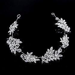 Handmade Headpiece Crystal Rhinestones Bridal Headband