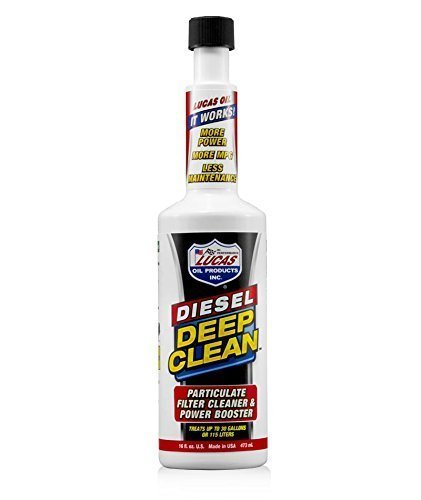 Lucas 10872 Oil Diesel Deep Clean, 16 Ounce -