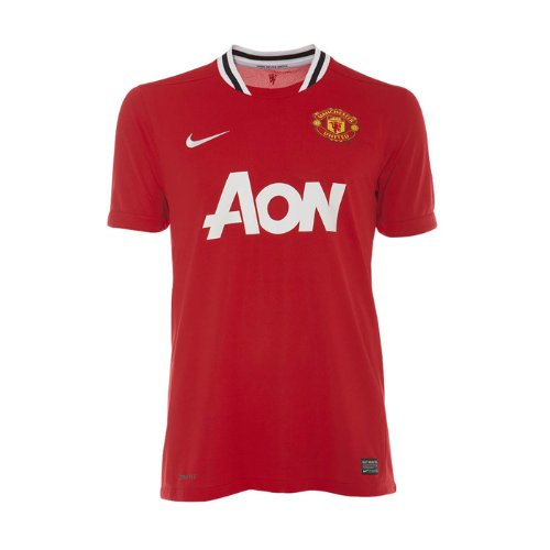 Nike Manchester United Home Jersey - X Large Red 2011 Manchester United Jersey
