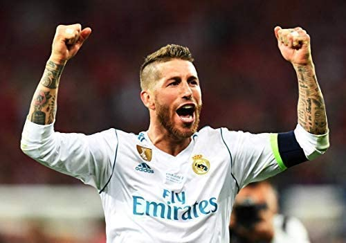 Desconocido Sergio Ramos Real Madrid España la Liga Fútbol Póster 10963 (A3-A4-A5) - A3: Amazon.es: Hogar