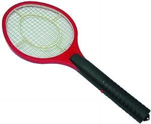 Elektrische Fliegenklatsche, Insektenvernichter in Form Tennisschläger