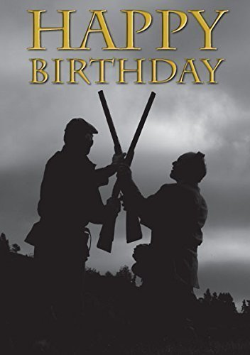 Amazon Shotgun Shooting Birthday Greeting Card Showing Double
