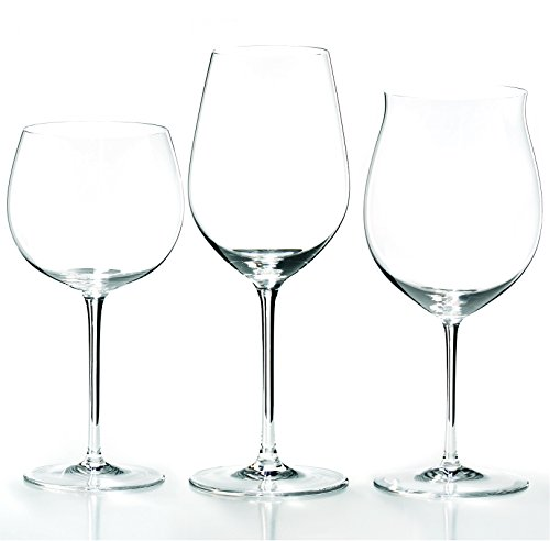 Riedel Sommeliers 3 Piece Leaded Crystal Wine Tasting Glass Set by Riedel