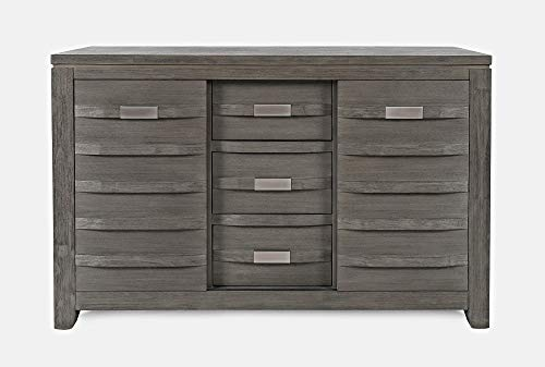 Jofran 54 in. Server in Distressed Brushed Gray