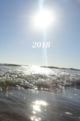 2018: Calendario/Planificador de cita: 1 semana en 2 lados, Formato 6