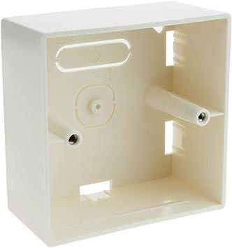 BeMatik - Caja de Superficie de 80x80x42mm: Amazon.es: Electrónica