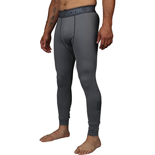 [해외]Hypnotik 플렉스 압축 바지 / Hypnotik Flex Compression Pants - Grey - Large