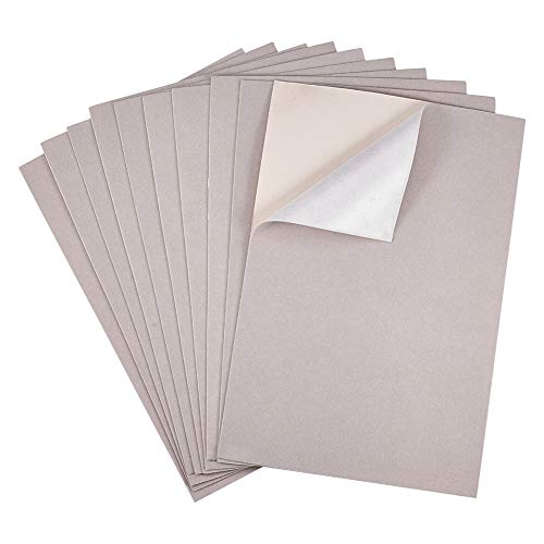 - BENECREAT 20PCS Velvet (AntiqueWhite) Fabric Sticky Back Adhesive Back Sheets, A4 Sheet (8.3