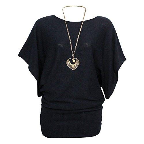 3 gratuit chauve Collier unique 8 Top Taille Acrylique Ta manches Miss daa tricot souris en 4 Femme nbsp;Pull qSIxRO1wp