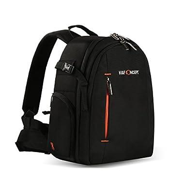 dslr backpack, K&F Concept Camera Backpack dslr waterproof backpack for Laptops Tablets Tripod with Waterproof Rain Cover camera backpack for women men