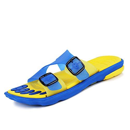 Pantoufles Hommes D'été/Chaussures De Plage Antidérapantes De Grande Taille-A Longueur du pied=24.8CM(9.8Inch)