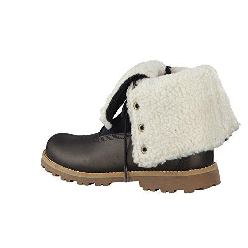Botas de invierno de autenticación Teddy Fleece CA1812 Negro Negro Timberland Mujeres Black