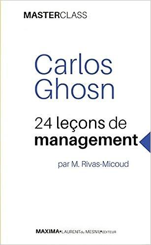 Telechargements De Livres Gratuits Carlos Ghosn 24 Lecons