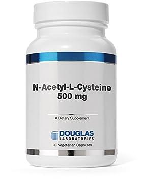 Douglas Laboratories® - N-Acetyl-L-Cysteine 500 mg - Glutathione Precursor for Antioxidant Protection* - 90 Capsules