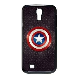 captain america logo Samsung Galaxy S4 9500 Cell Phone Case Black Tribute gift PXR006-7633419