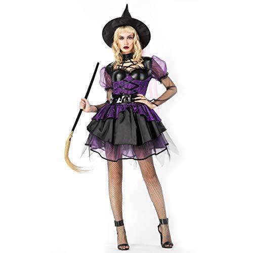 Halloween Costumes 2018 Halloween Dark Witch Costume Cosplay Witch Costume Stage, 8864, U