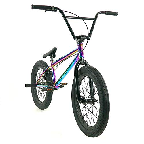 "Elite 20"" BMX Bicycle Destro Model Freestyle Bike New 2018 (Neo Chrome)"